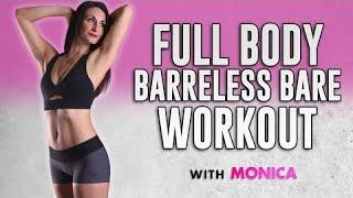 Total Body Shred! Cardio Barre Workout-- Burn Fat &  Sculpt! No Equipment, 25 Mins Fitness At Ho