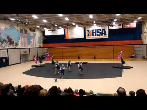 Wheaton warrenville south high school winterguard