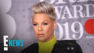 Pink Clapbacks at Internet Trolls for Shaming Son's Body | E! News Video
