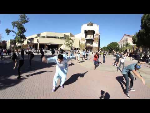 UCLA Circle K Pillow Fight 2013 Flash Mob