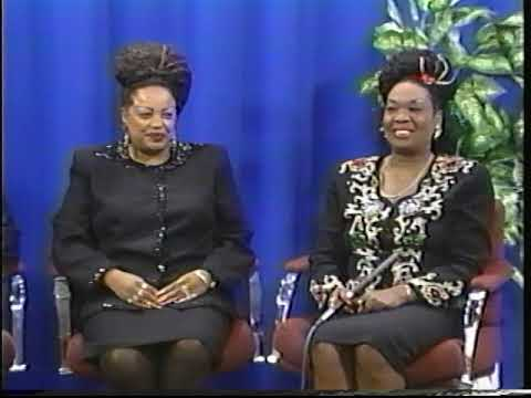 THE CLARA WARD SINGERS on my 1996 Cable Talk Show