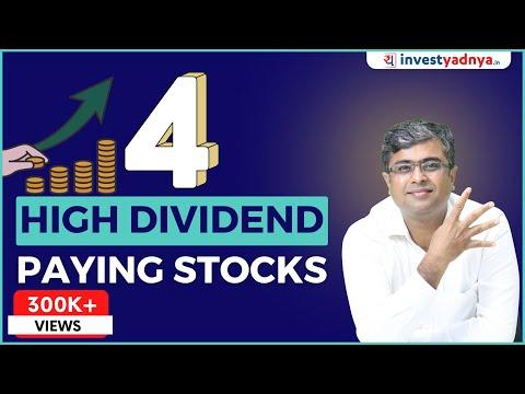 4 High Dividend Yield Stocks | Dividend Yield क्या होता हैं ?