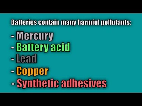 The Environmental Impact of Batteries