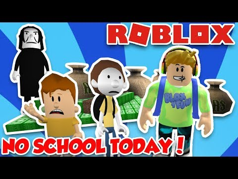 ESCAPE SCHOOL TO GET FREE ROBUX!! | BRAND NEW ADVENTURE OBBY in ROBLOX