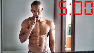 Morning Routine To Lose Stubborn Fat | Daily Fasted Cardio + Training