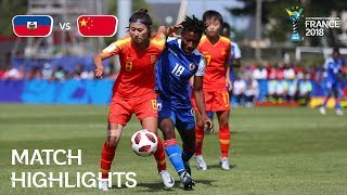Haiti v China PR - FIFA U-20 Women's World Cup France 2018 - Match 7