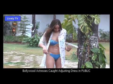 Bollywood Actresses Caught Adjusting Dress in Public (Lively TV) thumbnail