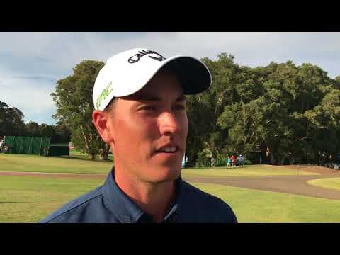 Anthony Quayle chats after round two the 2017 Emirates Australian Open