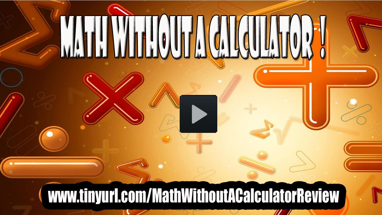 Worksheet Learn How To Do Math math without a calculator learn how to do in your head review
