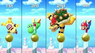 Super Mario Party Minigames - Bowser Jr. vs Mario vs Bowser ...