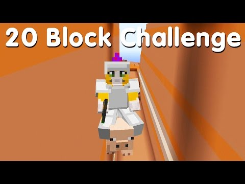 Minecraft PS4 - 20 Block Challenge - When Pigs Fly (30)