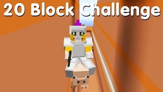 Gambar cover Minecraft PS4 - 20 Block Challenge - When Pigs Fly (30)