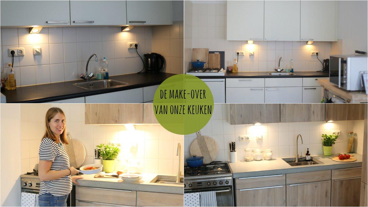 Verwonderend De make-over van onze keuken - het eindresultaat - LEKKER EN QQ-09