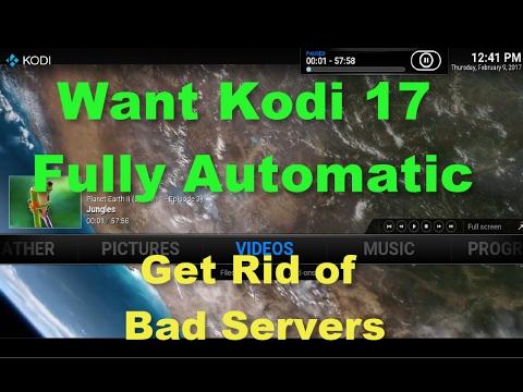 how to make kodi fully automatic