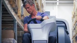 Nilfisk SC6000 Ride-on Scrubber Dryer