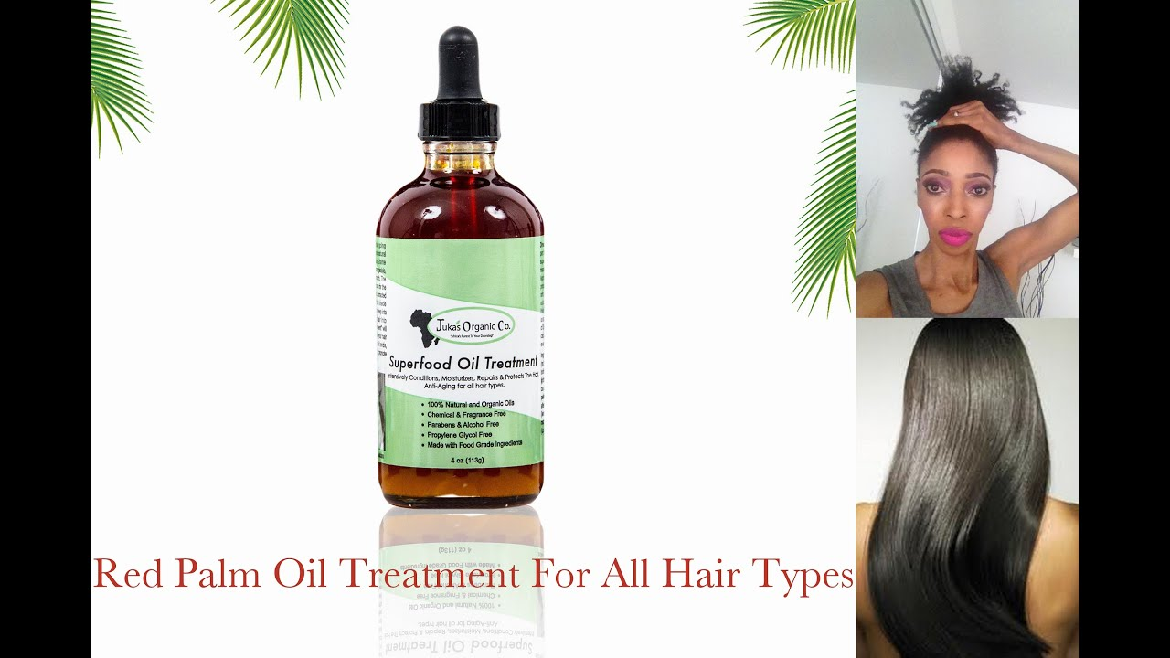 Red Palm Oil For Natural Hair