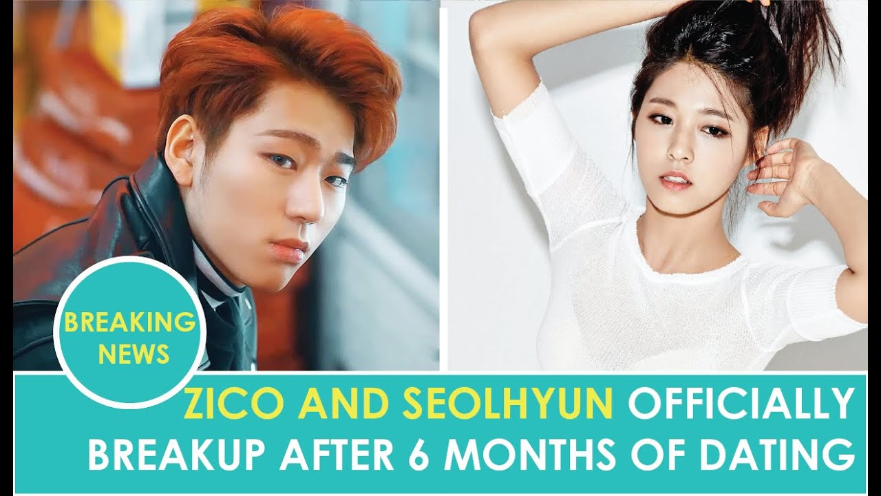 Block Bs Zico and AOAs Seolhyun Officially breakup - YouTube