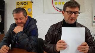 Conferenza stampa Movimento 5 Stelle sul Teatro Verde