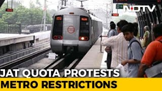 Jat Agitation: Delhi Preps For Lockdown From Today, Metro Services Restricted