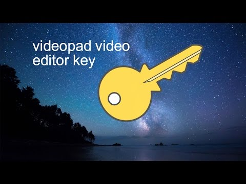 Videopad video editor serial key 2016 How to use videopad video editor for free and for ever!