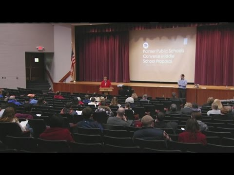 Palmer residents discuss the fate of the Converse Middle School