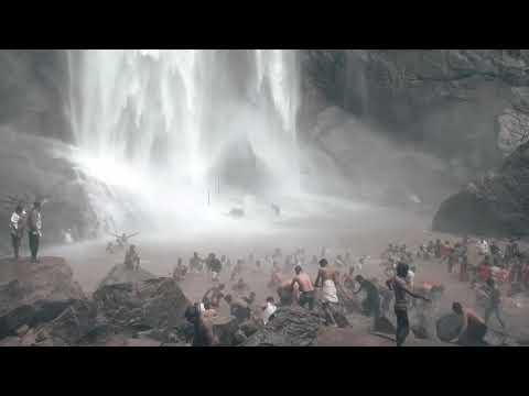 kollimalai agaya gangai falls - Adventurous waterfalls, Kollihills,Tamil Nadu