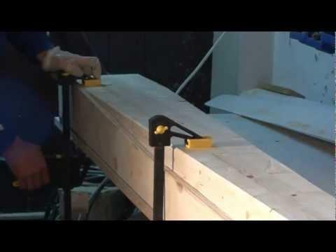 wind turbine single side method chainsaw blade carving