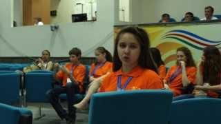 Интеллектуальный конкурс. Международные Детские Игры(Сюжет об интеллектуальном конкурсе в рамках Международных детских Игр