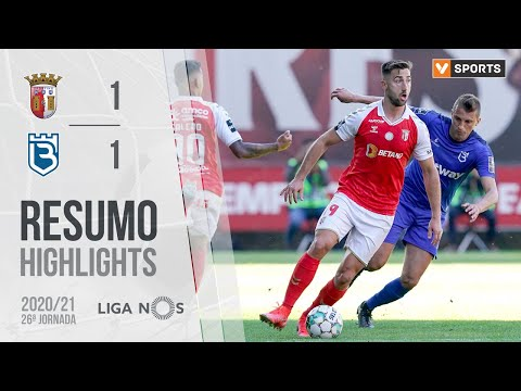 Braga Belenenses Goals And Highlights