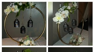 Dollar tree DIY country/enchanted forest/ garden centerpiece