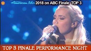 "Gabby Barrett sings  Original song ""Rivers Deep"" Her First Single American Idol 2018 Finale Top 3"