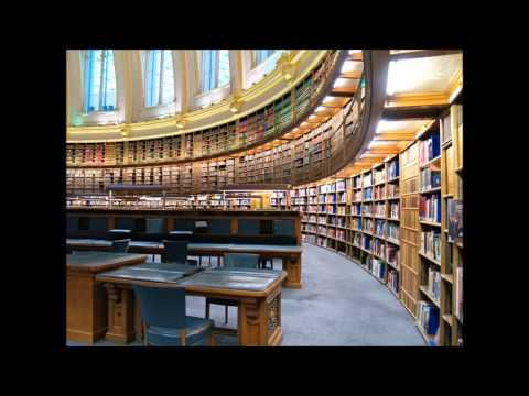 Library Background Noise for Relaxation