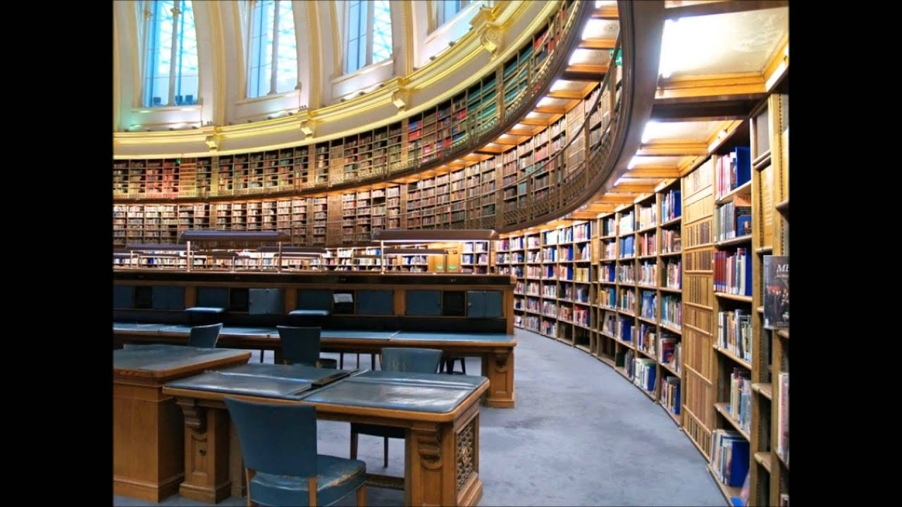 Library Background Noise For Relaxation Youtube