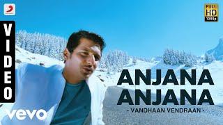 Vandhaan Vendraan - Anjana Anjana Tamil Video | Jiiva, Taapsee