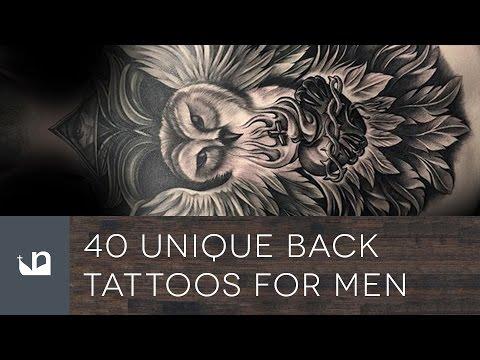 Unique Back Tattoos For Men
