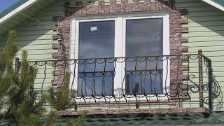як зробити балкон в приватному будинку своїми руками