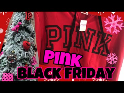 Victoria S Secret Pink Black Friday Haul 2019 Youtube