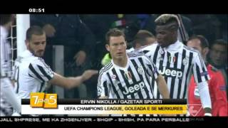 7pa5 - UEFA Champions League/Goleada e se merkures - 26 Nentor 2015 - Show - Vizion Plus