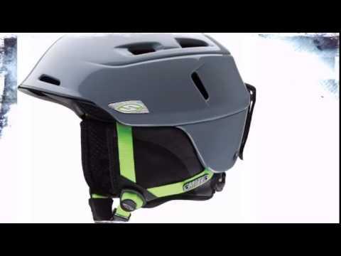 1bc0d14e2e Smith Camber Helmet- Frost Acid - TheSkiBum.com - YouTube