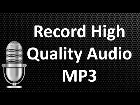 How To Record High Quality Mp3 Audio Free 🔥 Aktiv Mp3 Recorder 🔥 IT Craft