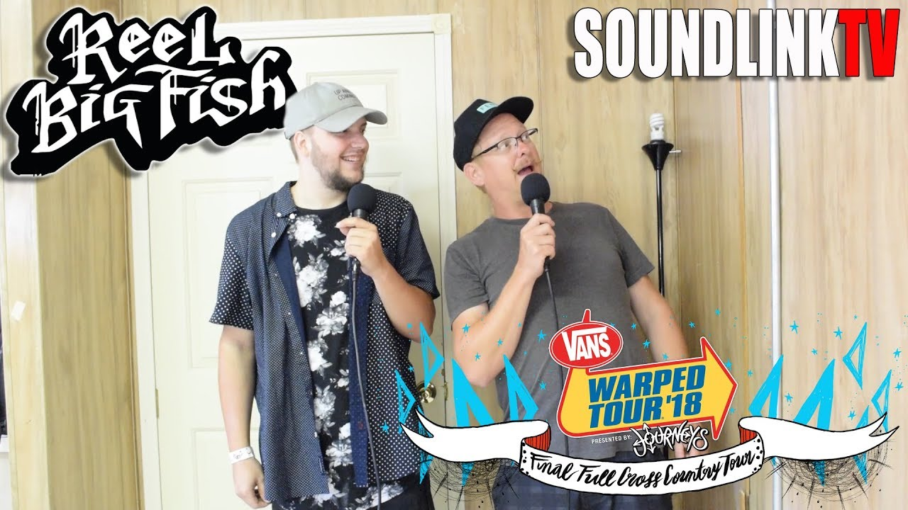 Interview with Reel Big Fish (Johnny Christmas) Warped Tour 2018 ...