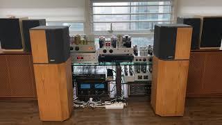 4개 스피커 청음 (olympus, Celestion …
