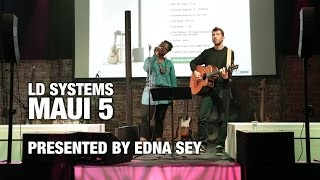 LD Systems MAUI 5 - Ultra Portable Column PA System Live @ Adam Hall Showroom Barcelona