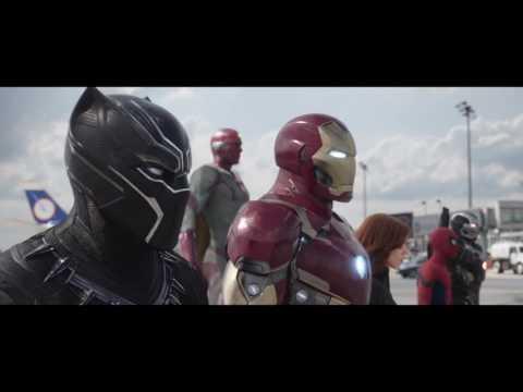 Spiderman Fight & More Scene- HD Civil War (Blue Ray)