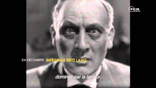 INTÉGRALE FRITZ LANG - DÉCEMBRE