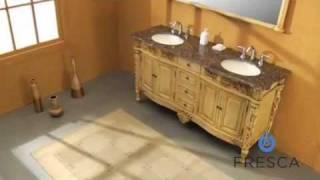 Fresca Almanor Antique Double Sink Bathroom Vanity - FVN6399