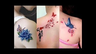 50 Schulter Tattoo Designs für Frauen