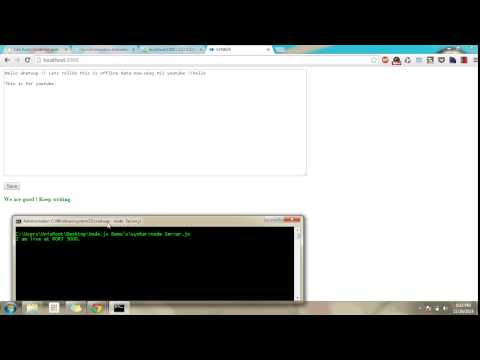 Synker- synchronization between indexedDB and MySQL