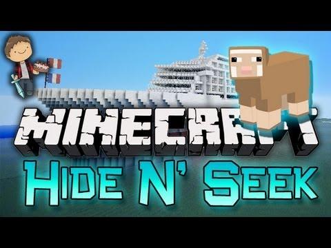 Minecraft: HIDE & SEEK 6 Mini-Game w/Mitch & Friends - FLUFFY!