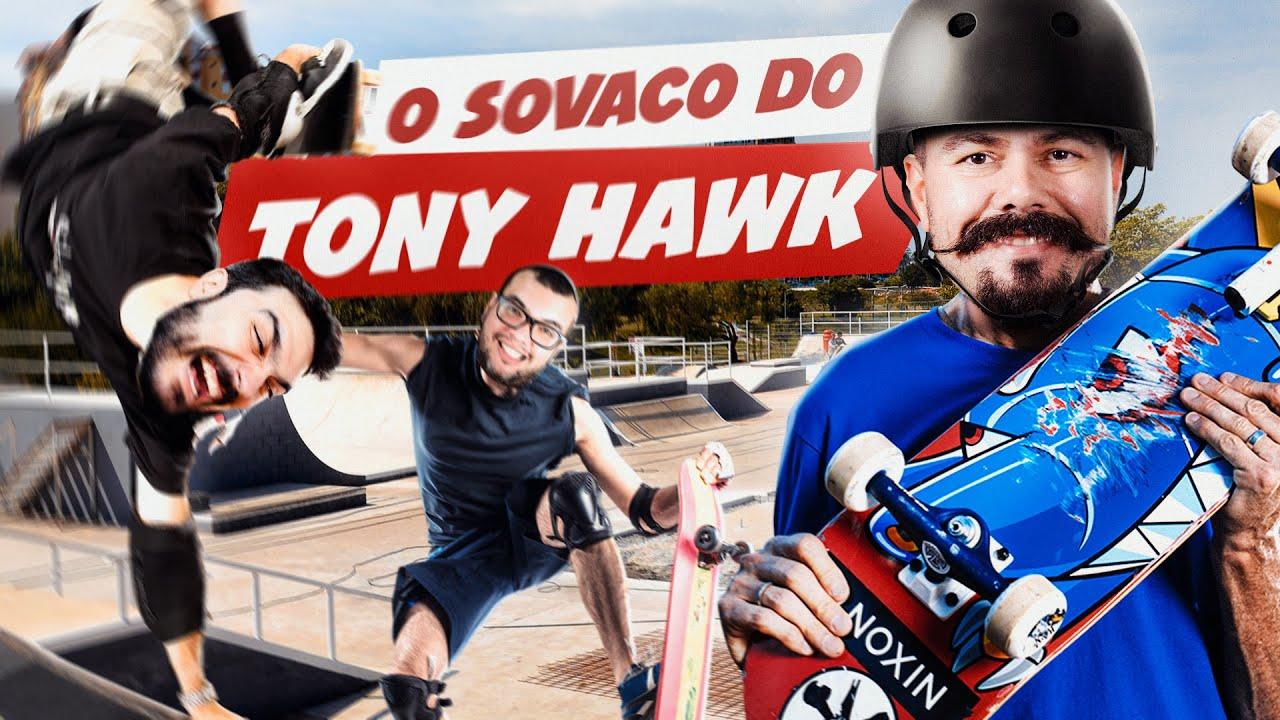 Tony Hawk e o skate de sovaco! | Matando Robôs Gigantes